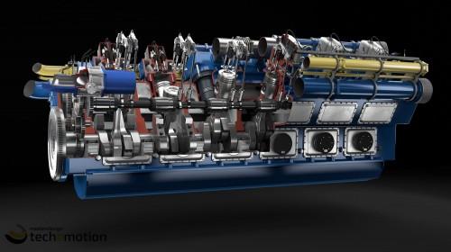 Gas Engine 06