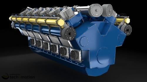 Gas Engine 03