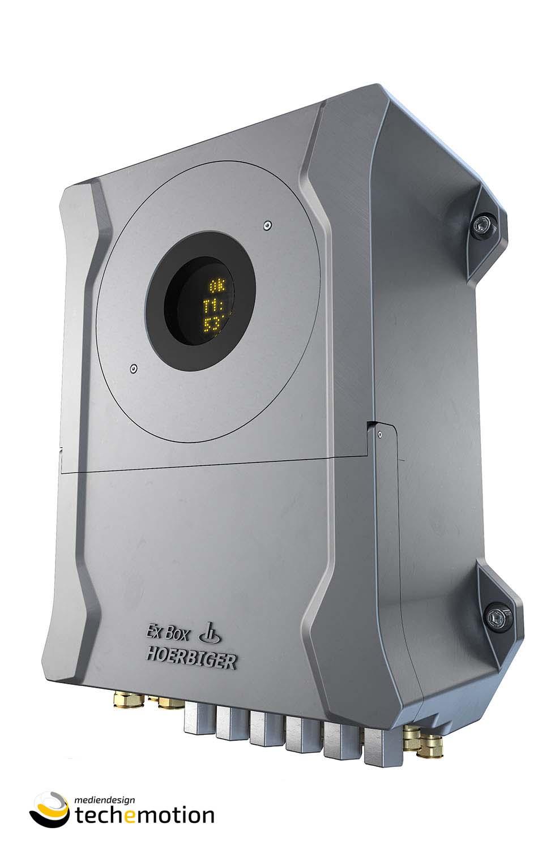 """Hoerbiger XBox Für das Unternehmen HOERBIGER wurde das neu entwickelte Produkt """"XperSEAL"""", anhand von CAD Zeichnungen, 3D – visualisiert und animiert!  Copyright TECHEMOTION Mediendesign"""